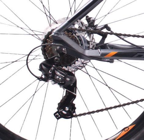 热销新款29英寸21速山地自行车库合金车架铝合金可锁死避震前叉液压碟刹山地车
