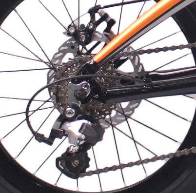 20英寸18速这折叠车自行车铝合金车架铝合金前叉碟刹折叠自行车
