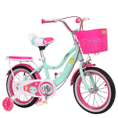 Factory Price New Product 12inch Kid's Bike High Carbon Steel Frame Carbon Steel Fork Double V Brake Children Bicycle For Sale