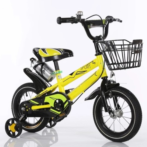 Factory Price New Product 12 inch  Kid's Bike High Carbon Steel Frame Carbon Steel Fork Double V Brake Children Bicycle For Sale