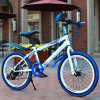 Factory Price High Cost 20 inch 7sp Bicycle Kid's MTB Full Carbon Steel Frame Carbon Steel Fork Disc Brake Children MountainBike