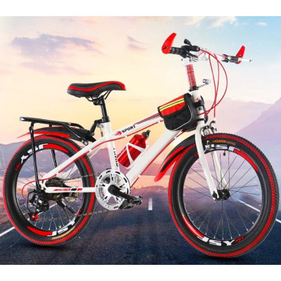 2018 Best Selling Product High Cost Low Price 20 inch 7sp child MTB High Carbon Steel Frame Carbon Steel Fork V Brake Children
