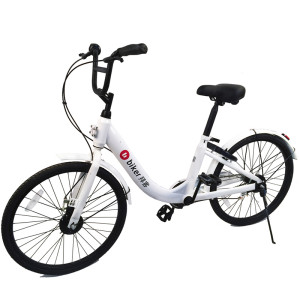 40 dollars promotion, high quality double brake city commuter sharing bike