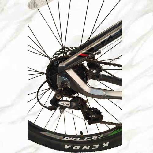 Mountain Bike Aluminum Alloy 27.5 inch Frame Lockable Fork 24sp MTB Double Disc Brake Bicycle