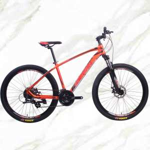 27.5 inch 24sp MTB Adult Bike Alloy Frame Alloy Lockable Sus Fork Double Disc Brake Mountain Bike