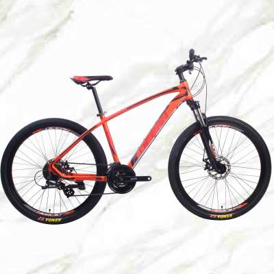 27.5 inch 24sp MTB Adult Bike Alloy Frame Alloy Lockable Sus Fork Double Disc Brake Mountain Bike