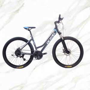27.5 inch 27sp MTB Adult Bike Alloy Frame Alloy Lockable Sus Fork Double Disc Brake Mountain Bike OC-19MA003