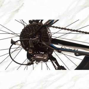 27.5 inch 27sp MTB Adult Bike Alloy Frame Alloy Lockable Sus Fork Double Disc Brake Mountain Bike OC-19MA003