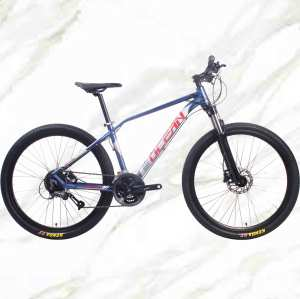 27.5 inch 27sp MTB Adult Bike Alloy Frame Alloy Lockable Sus Fork Double Disc Brake Mountain Bike OC-19MA005