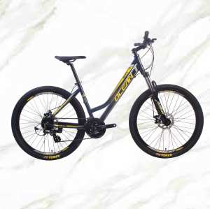 Mountain Bike Aluminum Alloy 27.5 inch Frame Lockable Fork 24sp MTB Double Disc Brake Bicycle