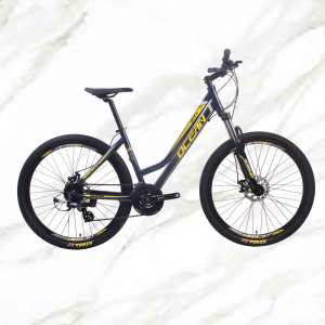 Mountain Bike Aluminum Alloy 27.5 inch Frame Lockable Fork 24sp MTB Double Disc Brake Bicycle OC-19M002