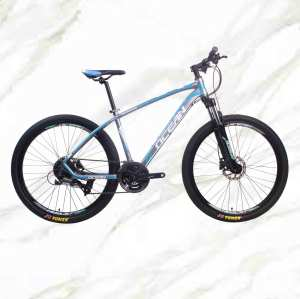 Mountain Bike 27.5 inch alloy frame alloy lockable suspension Fork double disc brake MTB For sale