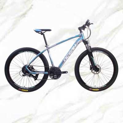 Mountain Bike 27.5 inch alloy frame alloy lockable suspension Fork double disc brake MTB For sale