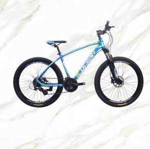 Best Selling Product Cheap Price Mountain Bike 26 inch Alloy Frame Fork 24sp Double Disc Brake MTB