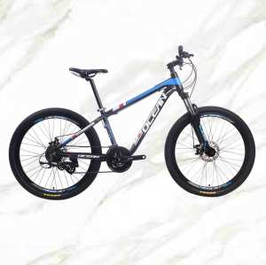 Cost-effective  Mountain Bike 26 inch Alloy Frame Fork 24sp Double Disc Brake MTB For Sale