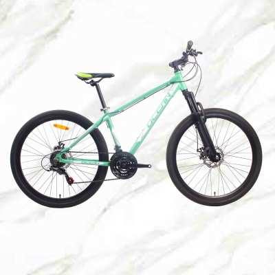 27.5 inch 21sp MTB Adult Bike Alloy Frame Steel Fork Double Disc Brake Mountain Bike