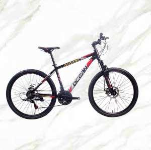 Mountain Bike 26 Inch Alloy Frame Alloy Lockable Suspension Fork Double Disc Brake MTB For Sale