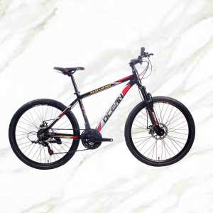 Mountain Bike 26 Inch Alloy Frame Alloy Lockable Suspension Fork Double Disc Brake MTB For Sale