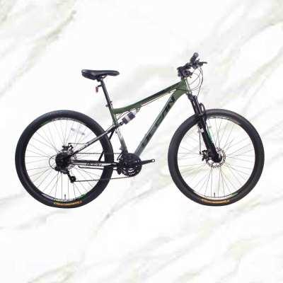 2019 New Style bicycle Mountain Bike 29 inch Alloy Frame Steel Fork 21sp Double Disc Brake MTB For Sale