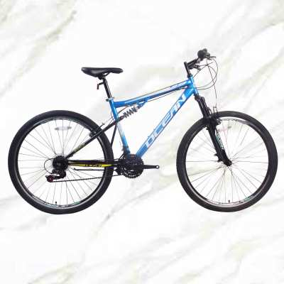 Adult Mountain Bike 29 inch Alloy Frame Steel Fork 21sp Double V Brake MTB For Sale