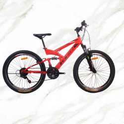 Best Selling Product Mountain Bike 26 inch Steel Frame Steel Fork 21sp Double V Brake MTB ForSale