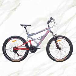 New Style Mountain Bike 26 inch Steel Frame Steel Fork 21sp Double V Brake MTB ForSale
