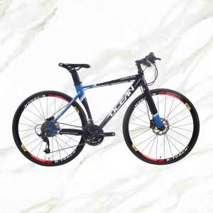 New Style Road Bike 700c Alloy Frame Alloy Fork 30sp Double Disc Brake Adult For Sale