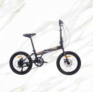 20 inch Alloy frame and Steel fork 7 speed double disc brake folding bicycle