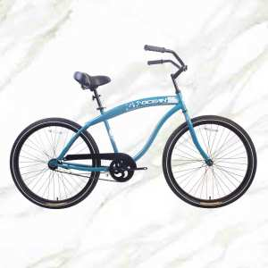 26 inch Steel frame and Steel fork Bike 1 speed Coaster brakeBeach bicycle