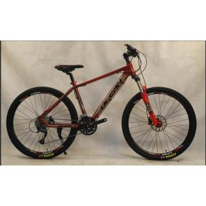 27.5 inch alloy frame alloy lockable suspension Fork double disc brake MTB BICYCLE For sale