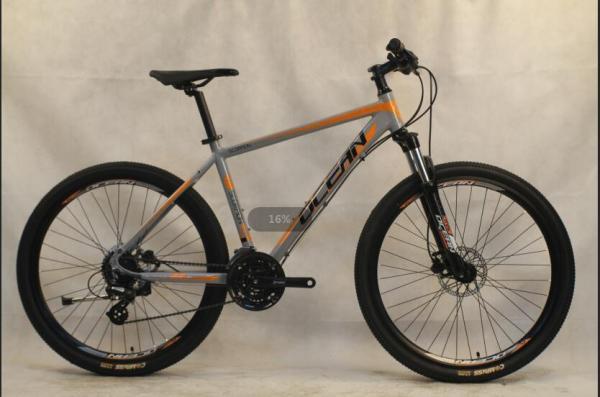 29 inch Alloy frame Half-alloy fork 21 speed disc brake Mountain bike MTB bicycle