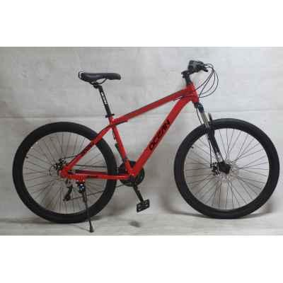 27.5 inch Alloy frame Half-alloy fork 21 speed disc brake Mountain bike MTB bicycle OC-20M27A021