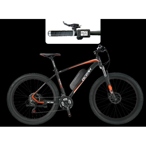 29 inch 36V 350W/48V 500W Mountain e-bike brushless hub motor lithium battery Chinese OC-20M29E002