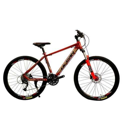 27.5 inch Alloy frame Half-alloy fork 21 speed disc brake Mountain bike MTB bicycle OC-20M27A025