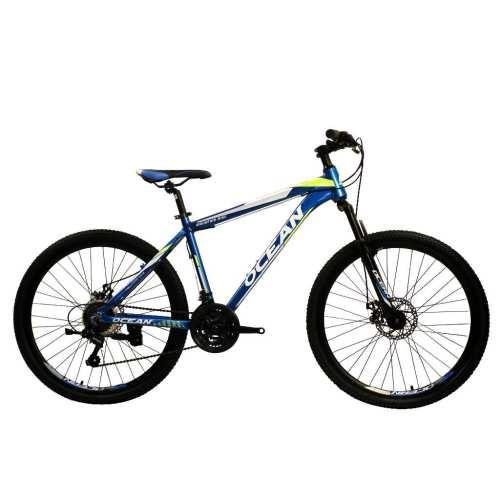 27.5 inch Alloy frame Half-alloy fork 21 speed disc brake Mountain bike MTB bicycle OC-20M27A027