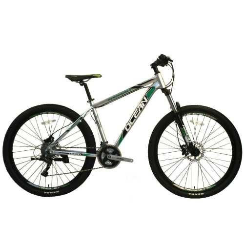 27.5 inch Alloy frame Half-alloy fork 21 speed disc brake Mountain bike MTB bicycle OC-20M27A030