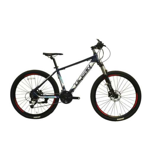 27.5 inch Alloy frame Half-alloy fork 21 speed disc brake Mountain bike MTB bicycle OC-20M27A031