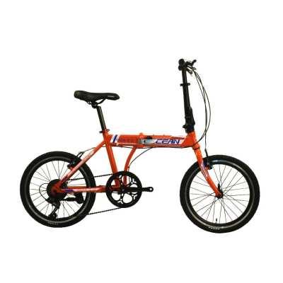 20 inch Alloy frame  7 speed disc brake folding bike  OC-20M27A032