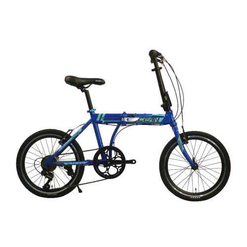 20 inch Alloy frame  7 speed disc brake folding bike  OC-20M27A033