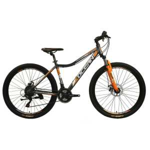 27.5 inch Alloy frame Half-alloy fork 21 speed disc brake Mountain bike MTB bicycle OC-20M27A036