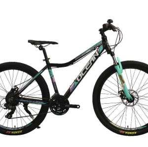 27.5 inch Alloy frame Half-alloy fork 21 speed disc brake Mountain bike MTB bicycle OC-20M27A044