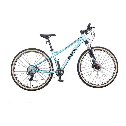 27.5 inch Alloy frame Half-alloy fork 21 speed disc brake Mountain bike MTB bicycle OC-20M27A047