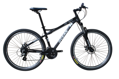 27.5 INCH ALLOY FRAME SHIMANO 24SP ON-ROAD MOUNTAIN BIKE MTB BICYCLE