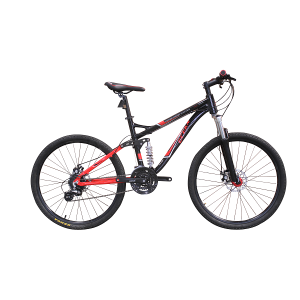 26 INCH ALLOY FRAME DOWNHILL MOUNTAIN BICK 24SP MTB BICYCLE