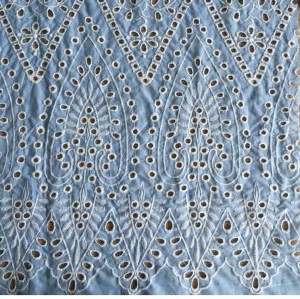 Cotton Broderie Anglaise fabric
