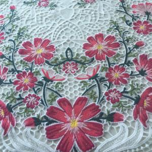 (June, 2017) Multi colors top quality macrame lace