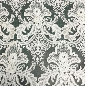 (June.2017) cording lace fabric for dress