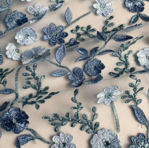 Floral Lace Fabric