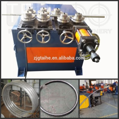 steel round ring bending machine with hydraulic system