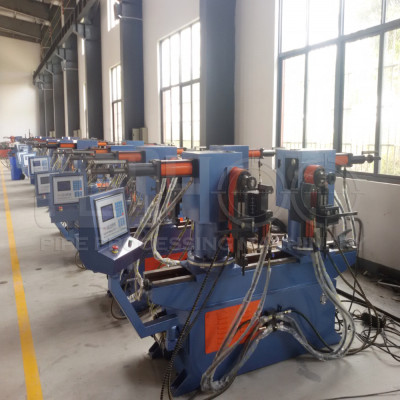 SW50A double head pipe bending machine